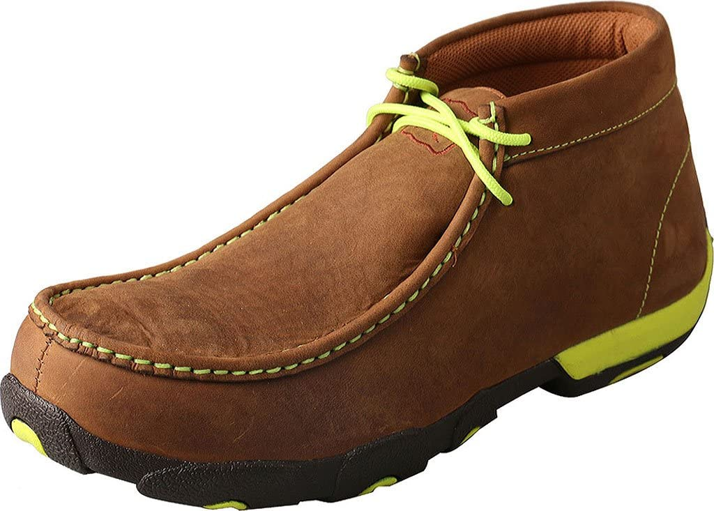 Twisted X Men's Chukka Driving Moc, Steel Toe, Oil & Slip Resistant