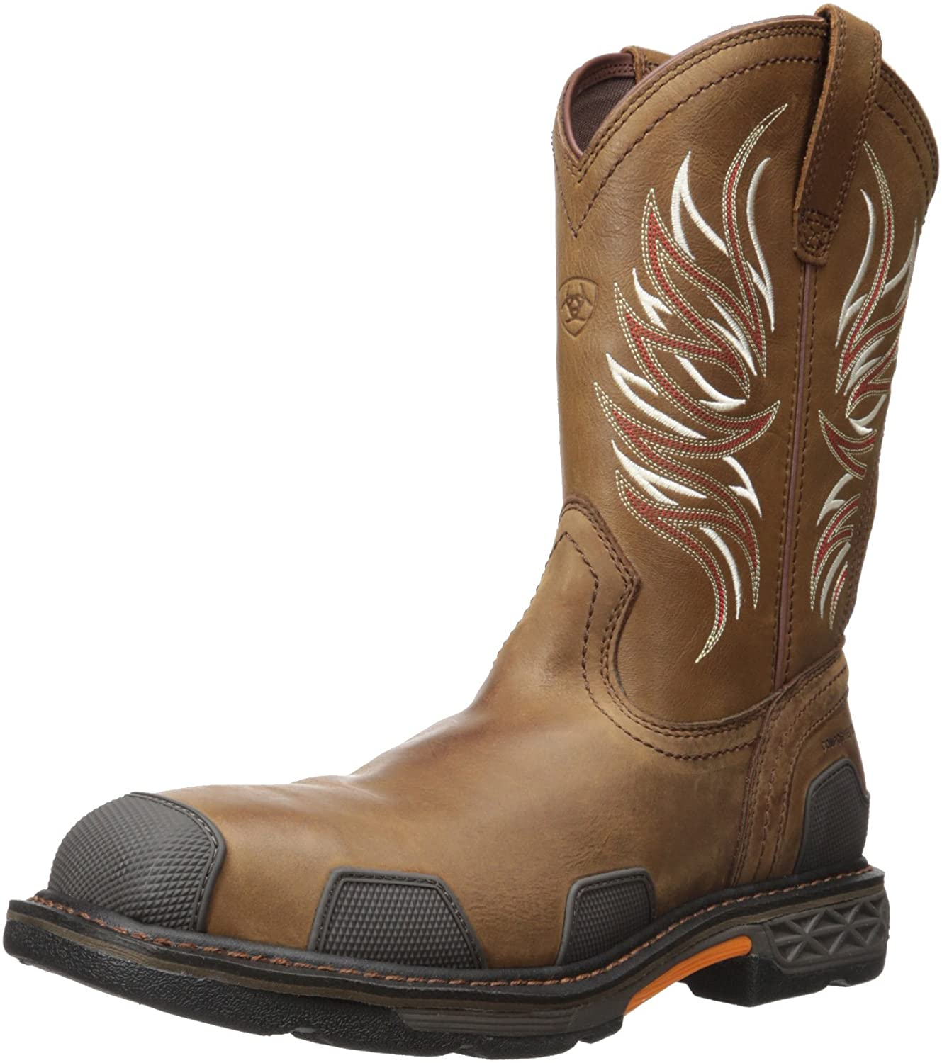 ARIAT Men's Overdrive Wide Square Toe Composite Toe Work Boot