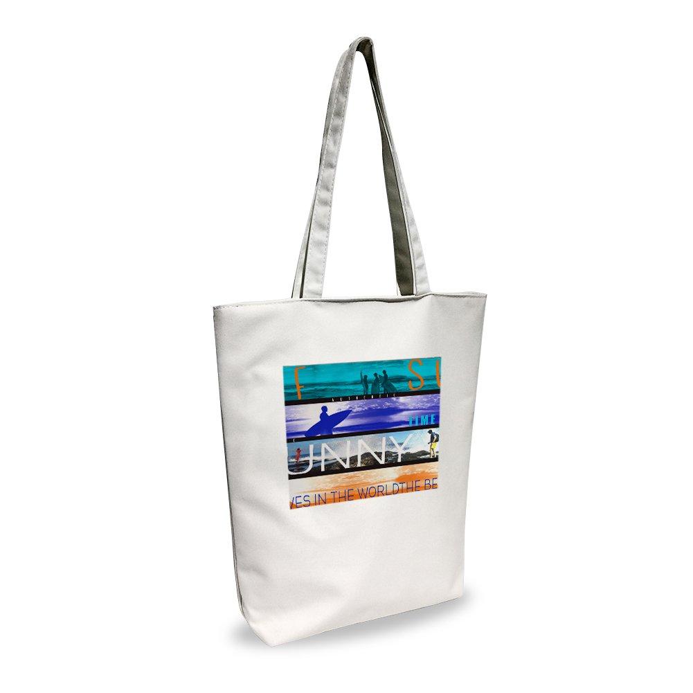 Canvas bag Tote bag Beach Shoulder Tote Bag (monkey)