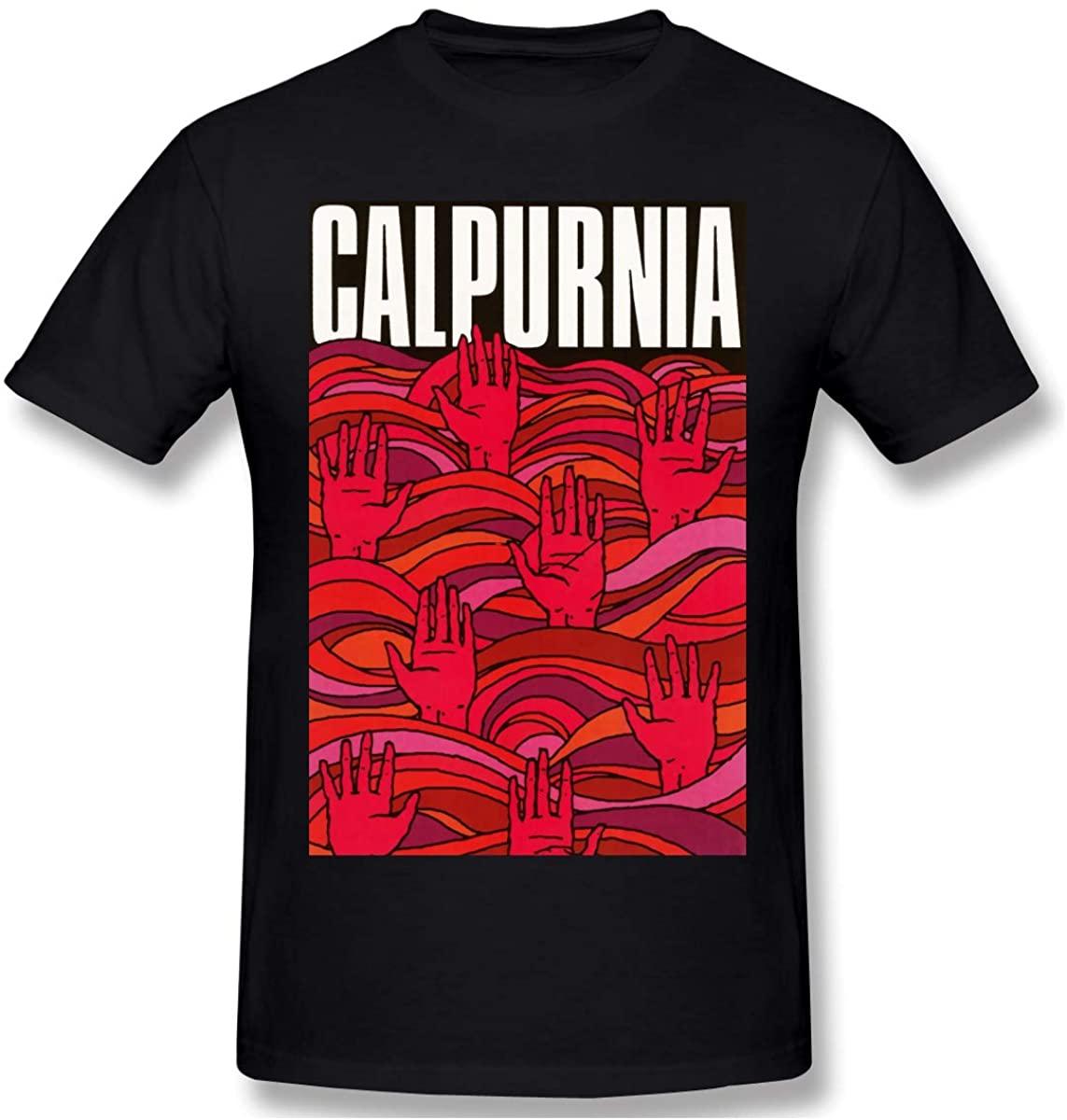Cfgerends Calpurnia Men's Basic Short Sleeve T-Shirt Cotton Shirts Home Office