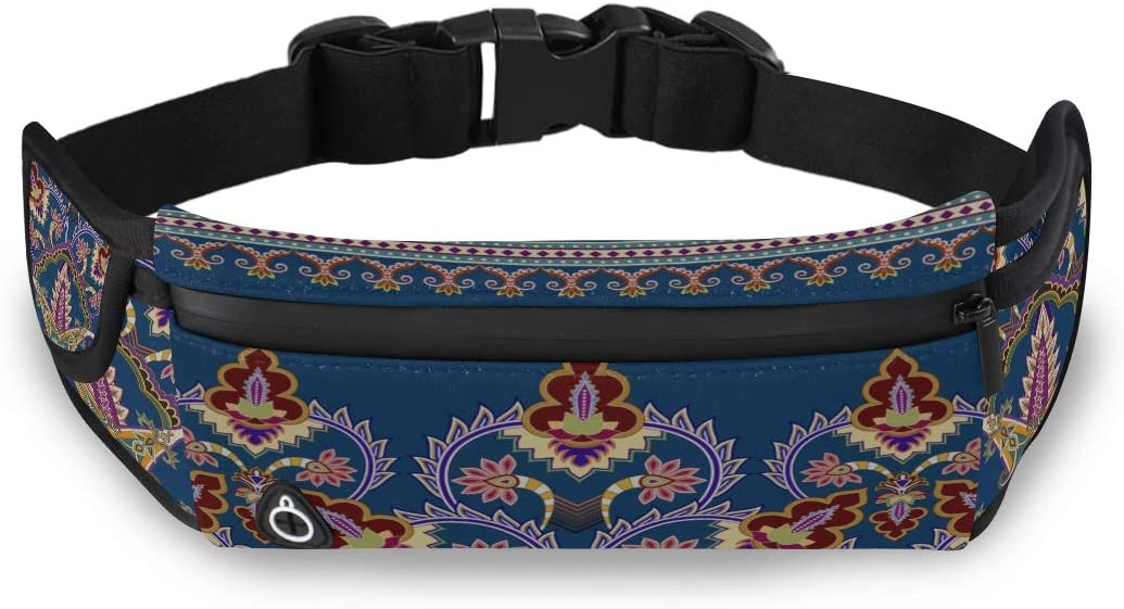 Gorgeous Palace Beautiful Colorful Colorful Fashion Bag Teacher Waist Pack Fashion Zipper Bag With Adjustable Strap For Workout Traveling Running