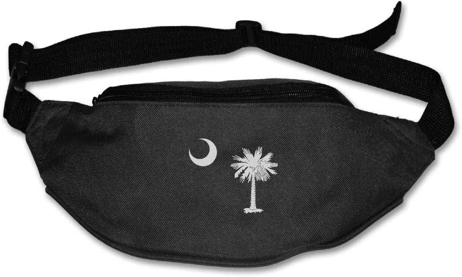 Fanny Bag South Carolina State Flag Unisex Fashion Waist Pack Bag with Adjustable Strap