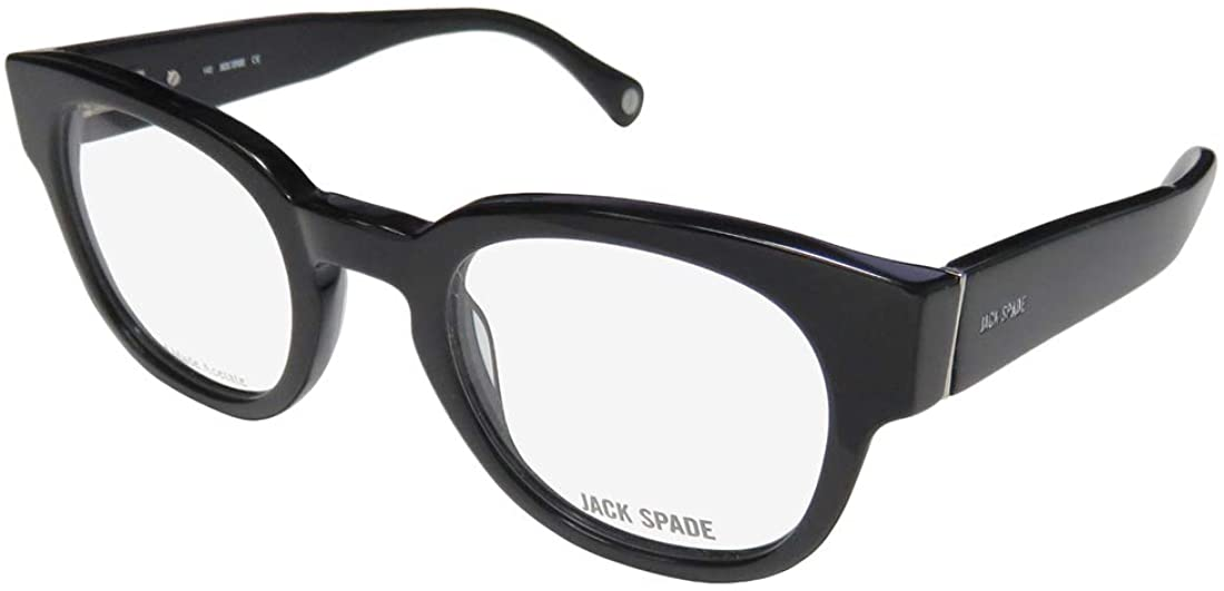 Jack Spade Pearson Mens/Womens Designer Full-rim Spring Hinges Brand Name Classic Shape Durable Eyeglasses/Eyeglass Frame