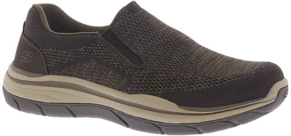 Skechers Men's Expected 2.0-Arago Slip on Canvas Loafer