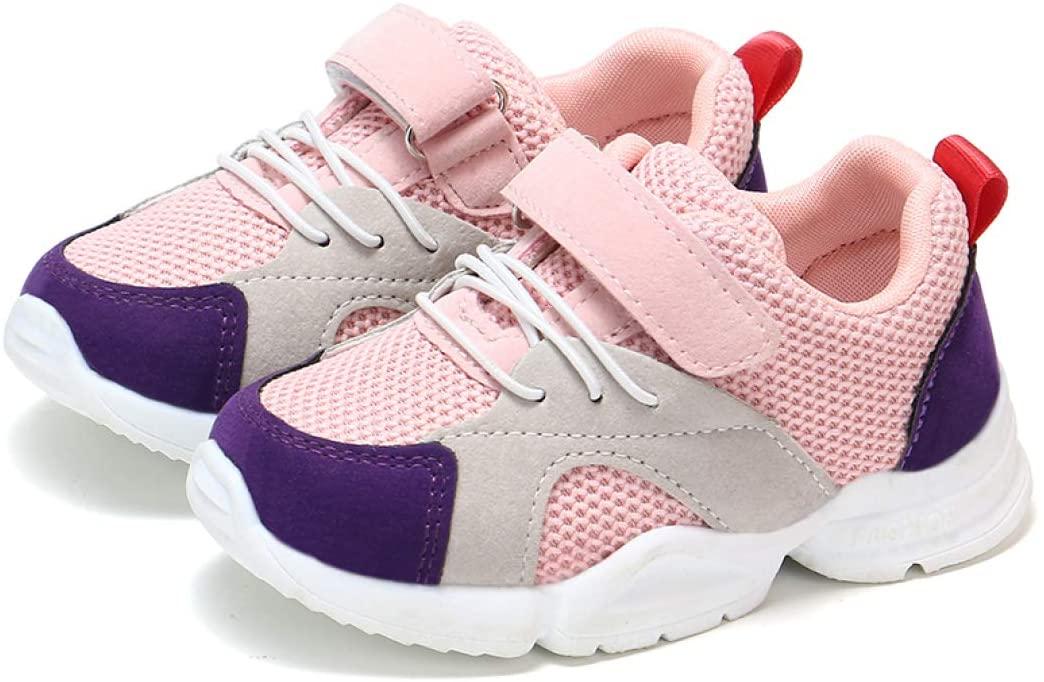 Wilbur Gold Baby Hook&Loop Sneakers for Girl Boy Children Casual Shoes Baby Mesh Breathable Anti-Slip Toddler Kids Outdoor Sport