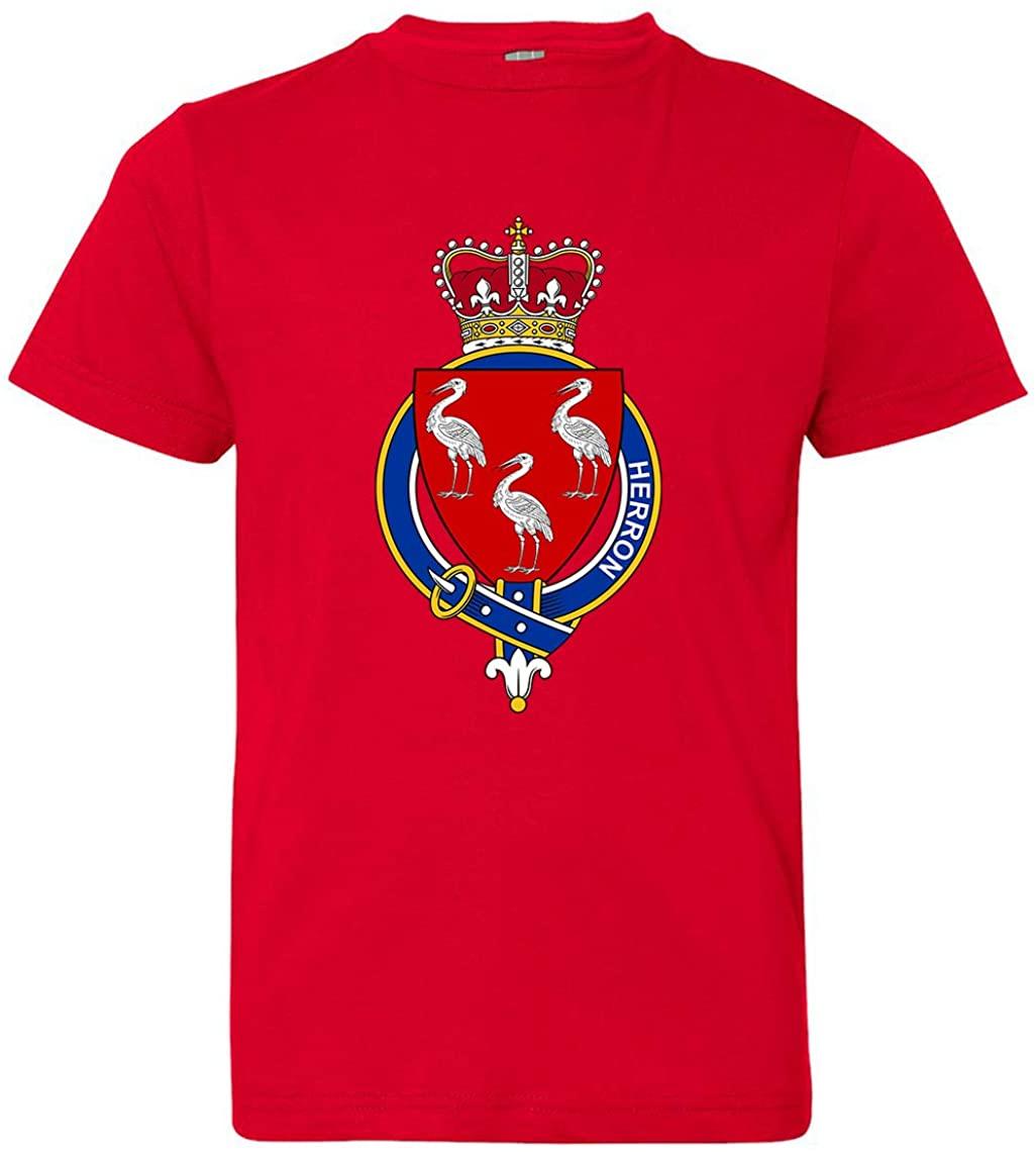 Tenacitee Girl's Youth English Garter Family Herron T-Shirt