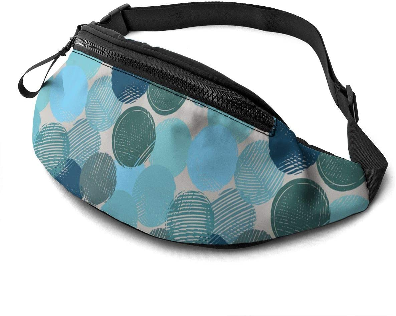 Color Circle Fanny Pack Fashion Waist Bag