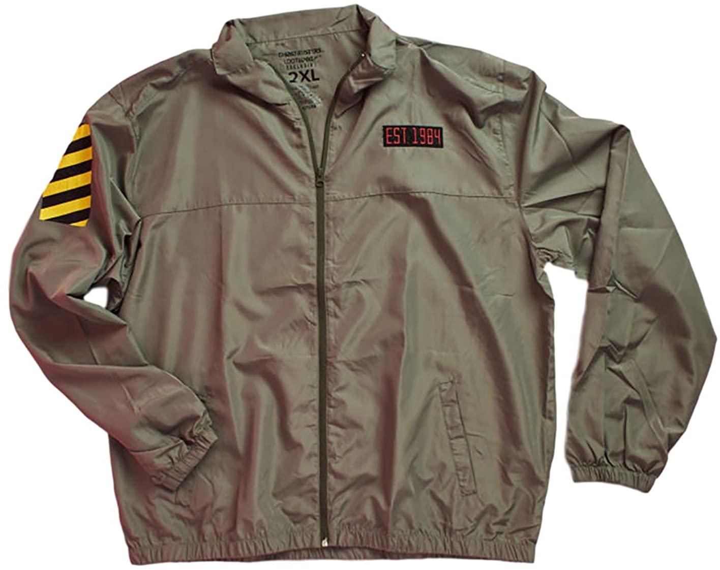 Loot Crate Ghostbusters Windbreaker Water Resistant Jacket