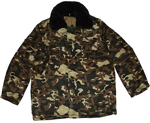 USSR Russian Military Winter Camo Jacket Uniform Universal Butan Size 5XLarge XXXXXL or 60