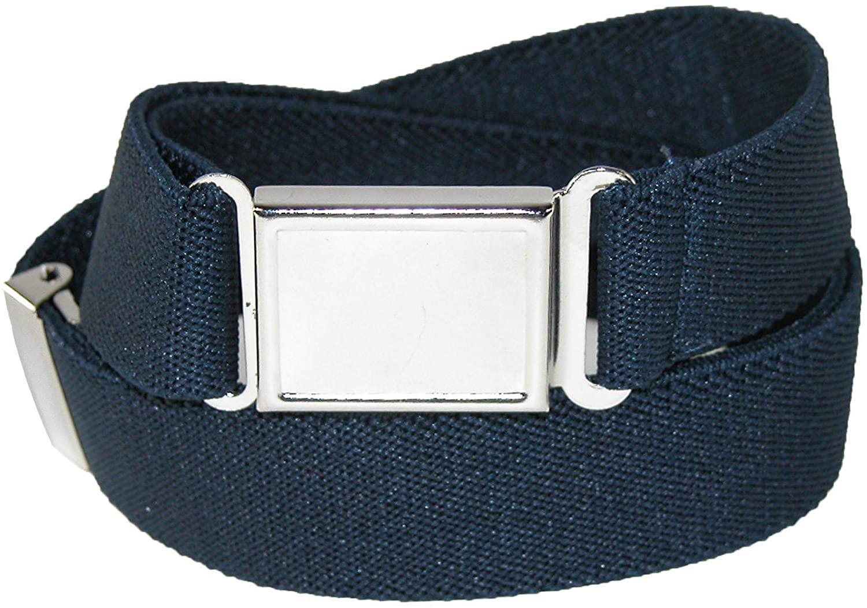 CTM Kids Elastic 1 Inch Adjustable Belt with Magnetic Buckle