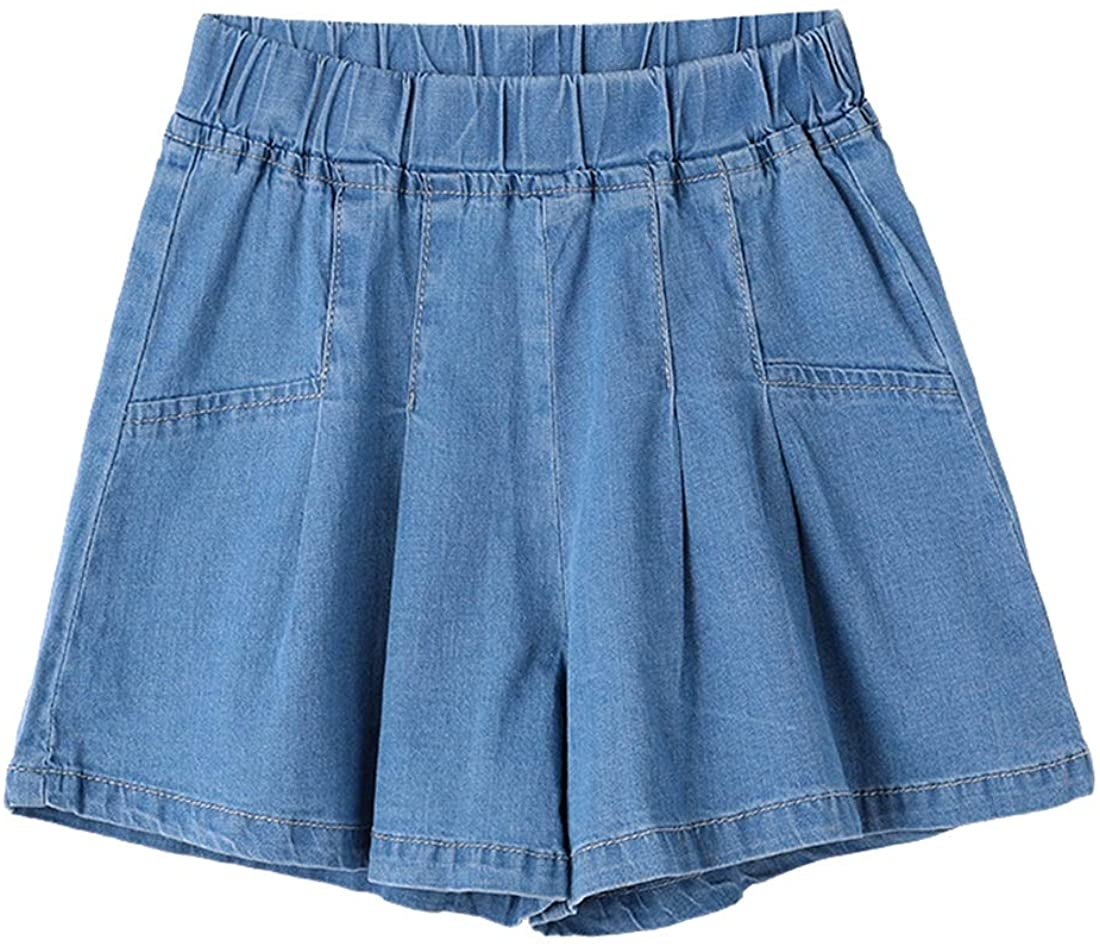 Qiribati Baby Girls Denim Shorts Denim Jean Shorts Culottes Shorts Summer Jeans