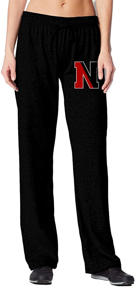 Sherrygeoffrey Northeastern University Huskies Women's 100% Cotton Sport Sweatpants