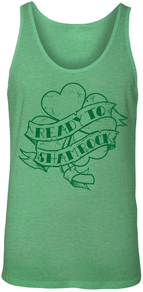 Manateez Men's St. Patrick's Day Ready to Shamrock Tank Top