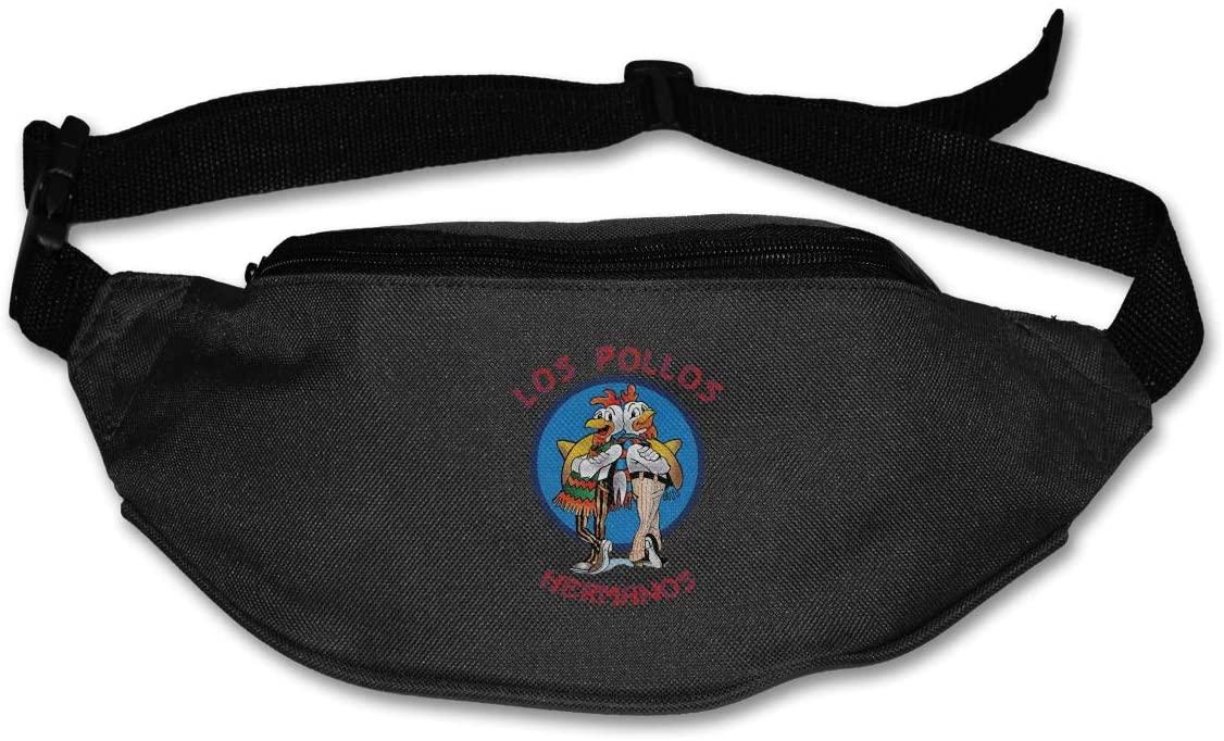 Ertregysrtg Los Pollos Hermanos Runner's Waist Pack Fashion Sport Bag