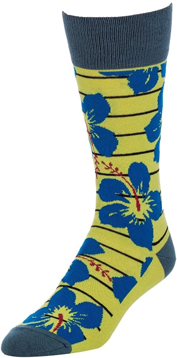 STROLLEGANT Escape Men Crew Casual Cotton Socks 1 Pairs, Sock Size 10-13