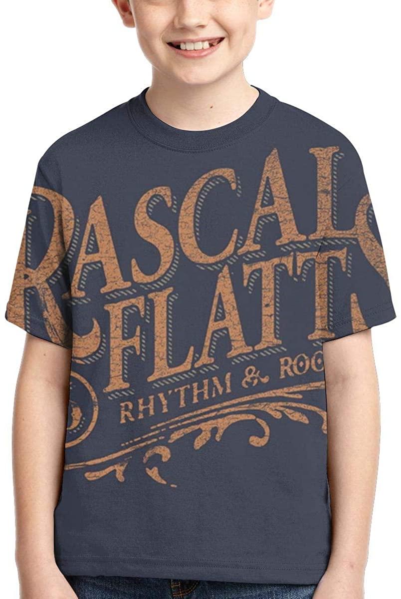 AP.Room Rascal Flatts Boy T-Shirt Handsome Fashion