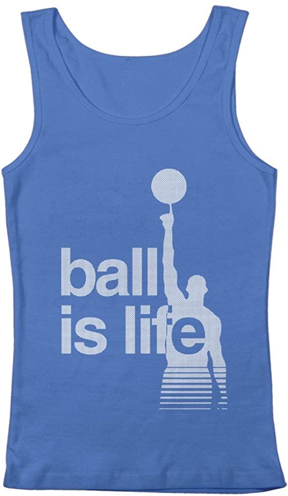 GEEK TEEZ Basketball Ball is Life Men's Tank Top