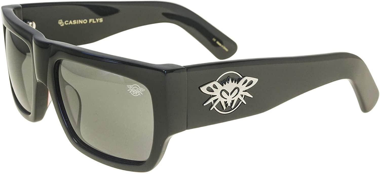 Black Flys Casino Flys Wayfarer Sunglasses