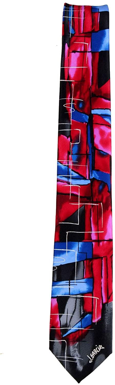JG-XL-8114 - Jerry Garcia Mens Extra Long Fashion Designer Brand Necktie Ties