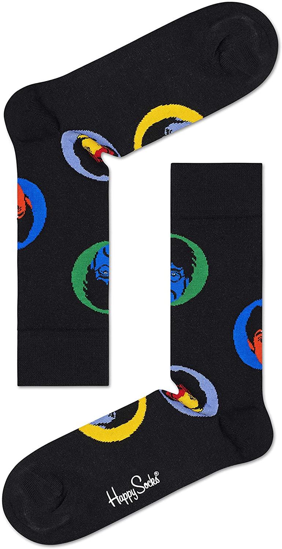 Happy Socks Men's Beatles Flower Power Sock