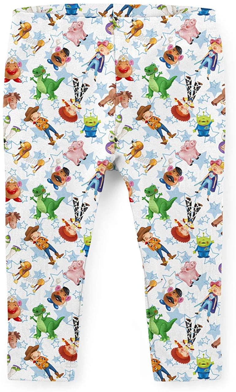Youth Leggings - Toy Story Friends Disney Inspired White