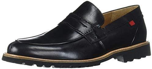MARC JOSEPH NEW YORK Men's Leather Luxury Eva Lightweight Technology Penny Loafer
