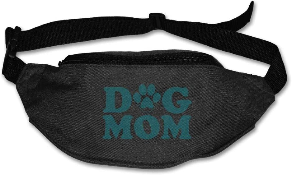Fanny Bag Dog Mom Unisex Fashion Waist Pack Bag with Adjustable Strap