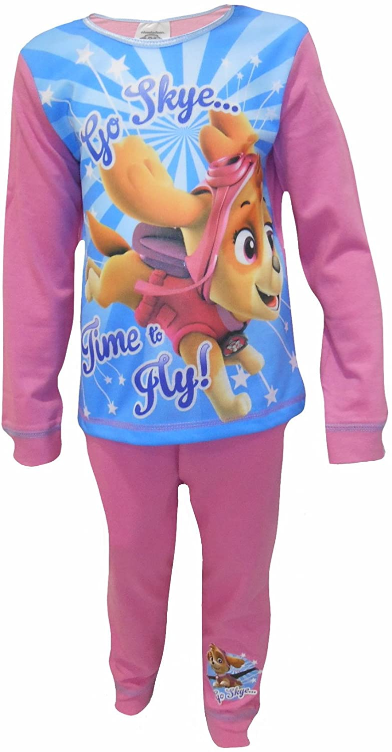 Paw Patrol Time to Fly Little Girls Pajama Set 2-Piece Pajamas