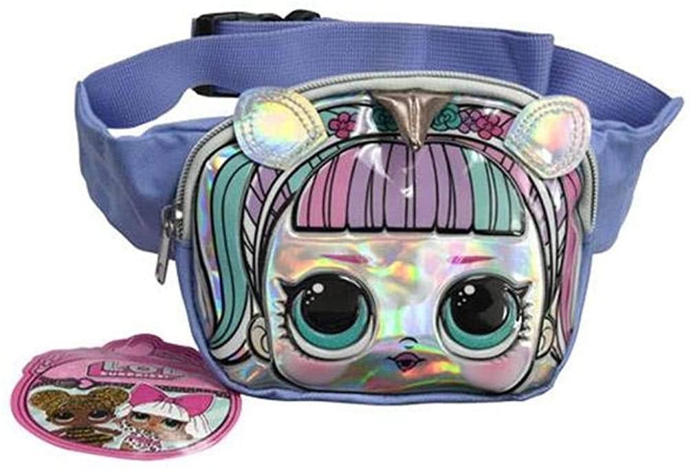 UPD LOL Suprise Unicorn Belt Bag, Blue, Medium