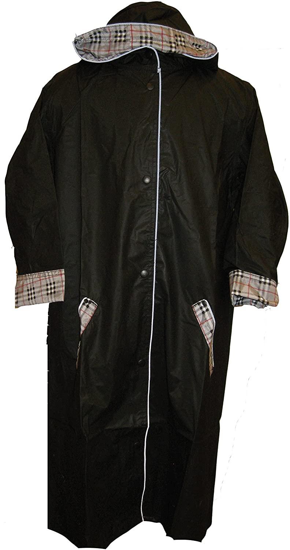 Raincoat Black Boys Nylon Raincoat Sizes: 2/20 By Shaindys Childrens Wear (5/6, Black)