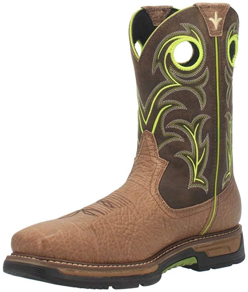 Dan Post mens Western Boot, Brown