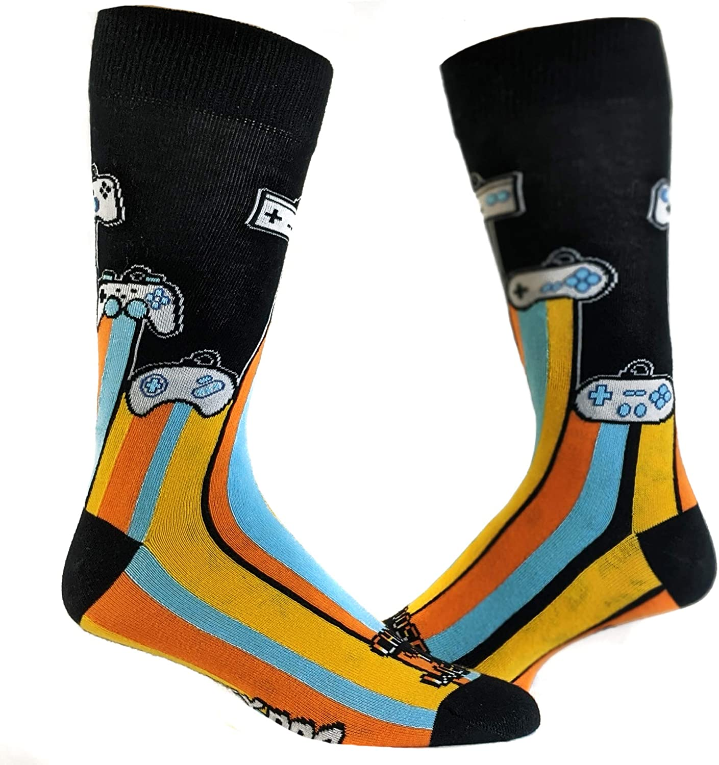 Gamer Socks Cool Funny Video Game Nerdy Footwear
