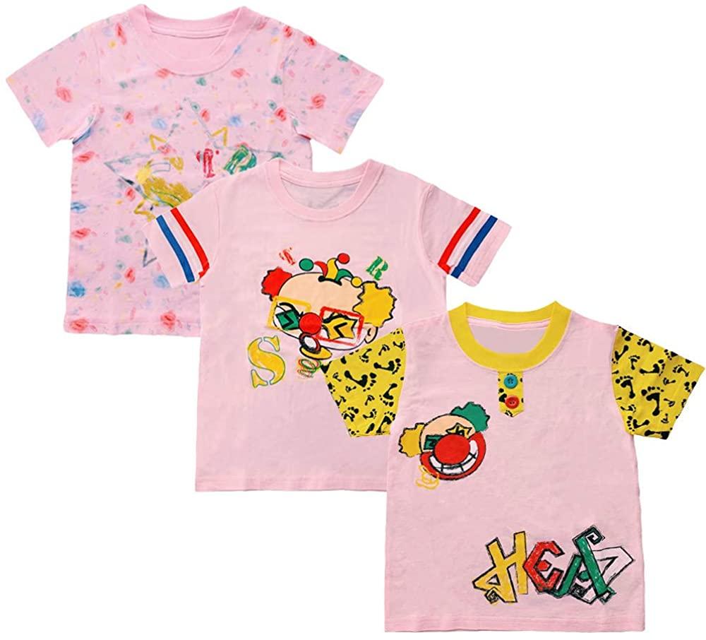 HEAT STAR Girls Toddler & Kids 3-Pack Short-Sleeve T-Shirts