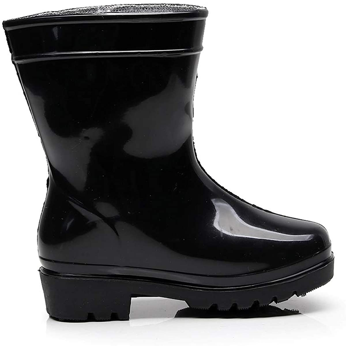 NOMSOCR Kids' Boys Girls Rubber Rain Boot
