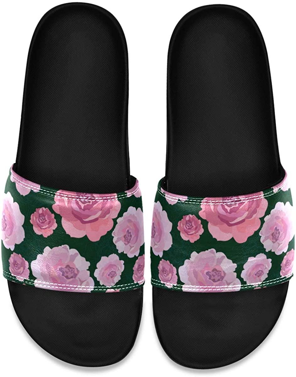Men's Shower Slides Personalized Spring Butterfly Color Slide Sandal, Slippers, Sandals for Men