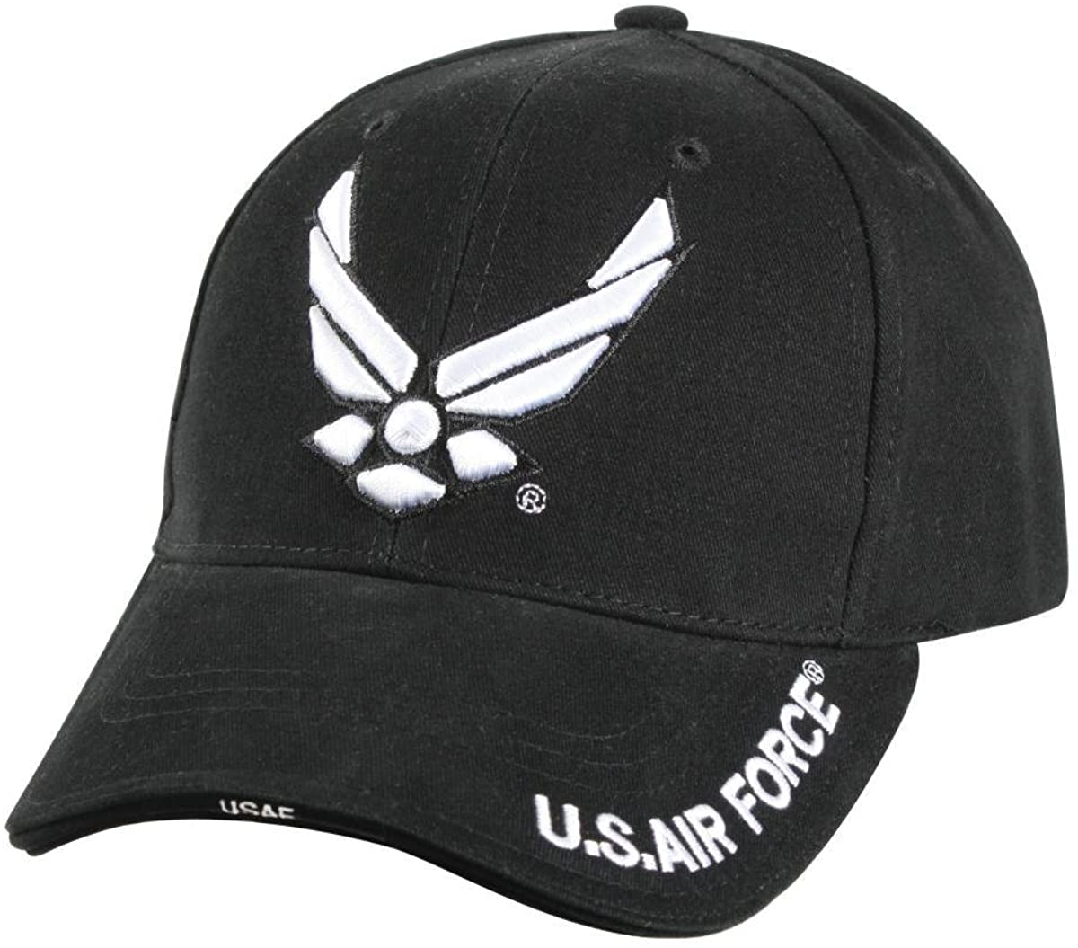 Rothco Deluxe Black ''New Wing Air Force'' Low Profile Cap