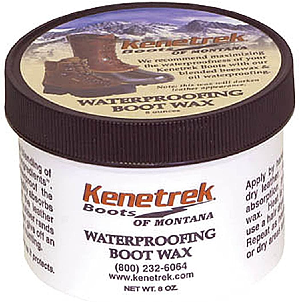Kenetrek Waterproofing Boot Wax and Leather Treatment Dressing, 256, 8 oz