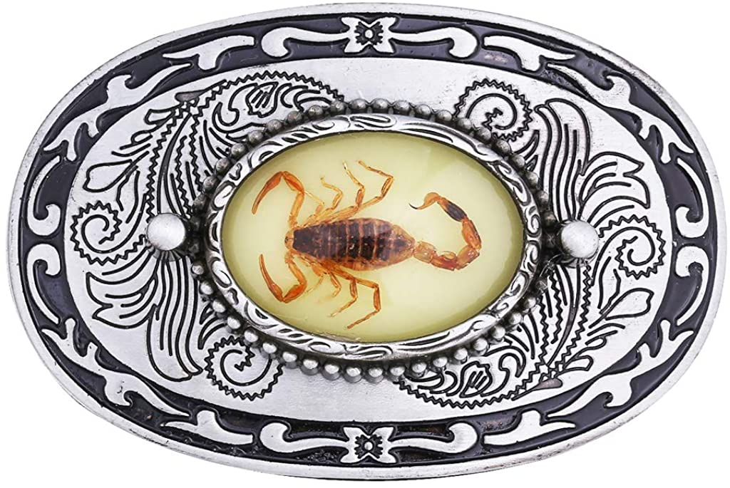 kowaku Metal Belt Buckle For Interchangeable Belts Western Cowboy Cowgirl Jewelry
