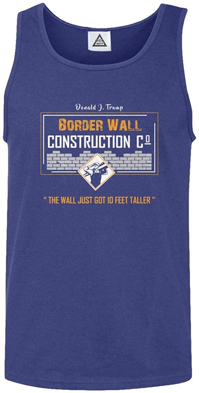 Trump Border Wall Construction Company Tank