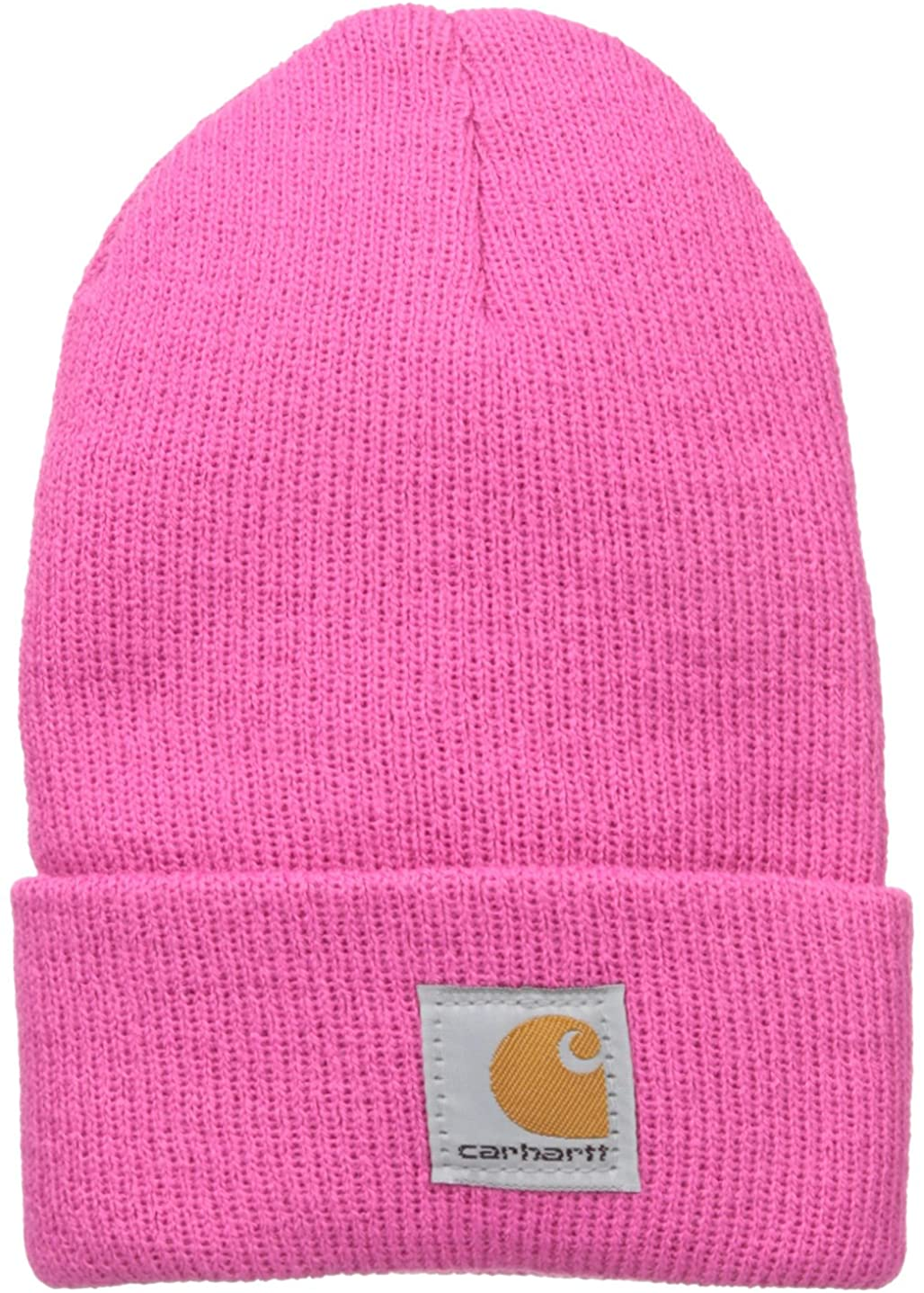 Carhartt Kids' Acrylic Watch Hat, Raspberry Rose, Toddler