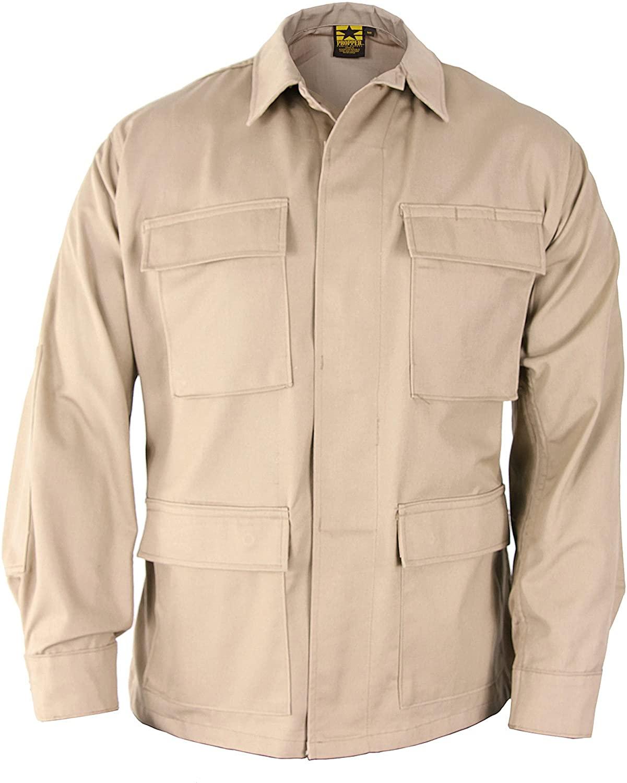 Propper Bdu Coat (battle Rip) 65/35 Poly/cotton