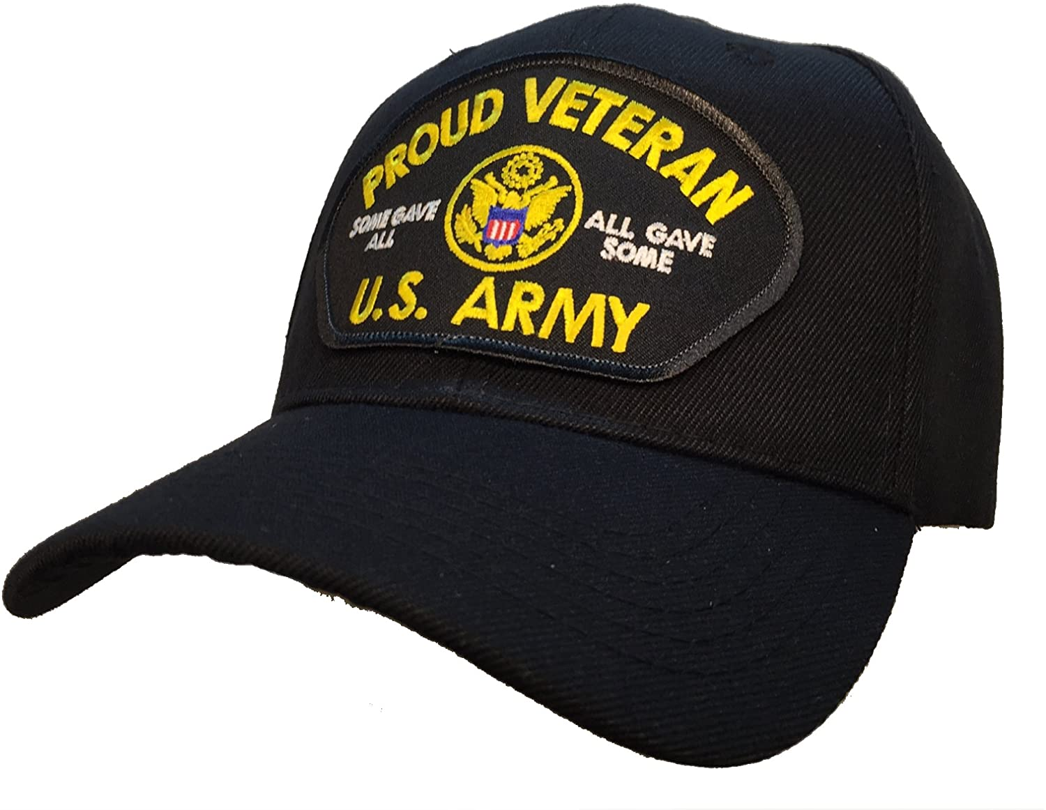 Proud Veteran Vet All Gave Some Some Gave All US Army Ball Cap