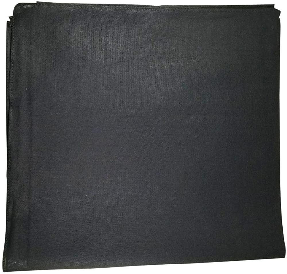 One Dozen Solid Plain Colors 100% Cotton Bandana - 12 Pack by M.H.I. (14 Colors)