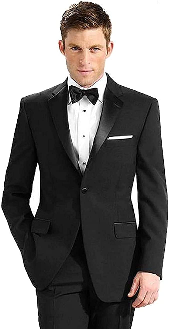 Neil Allyn 100% Polyester Tuxedo Jacket, Black, 48 Long