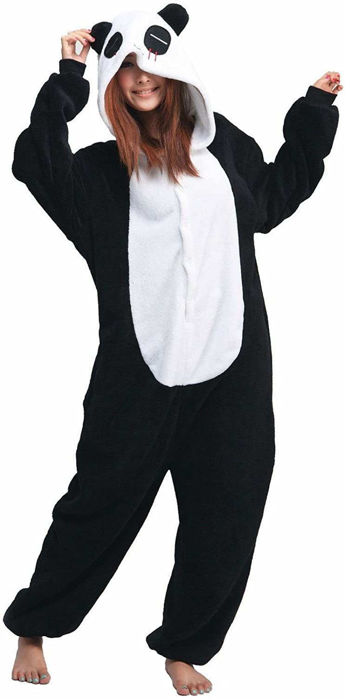 iNewbetter Sleepsuit Costume Cosplay Lounge Wear Kigurumi Adult Onesie Pajamas Panda