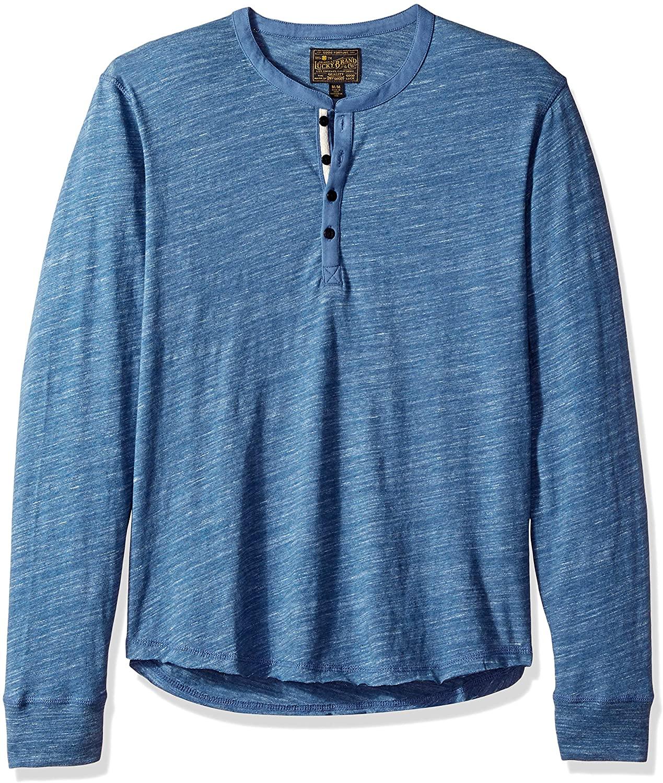 Lucky Brand Men's Long Sleeve Humboldt Henley Shirt