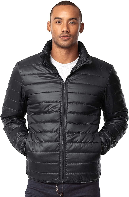 Oliver George Men's Lightweight Packable Puffer Jacket