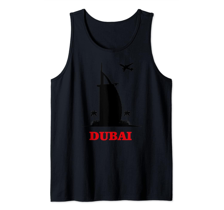 DUBAI Home State T shirt I Love DUBAI Vintage Tee Tank Top