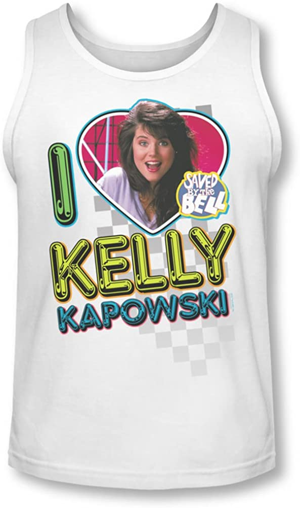 Saved By The Bell - Mens I Love Kelly Tank-Top