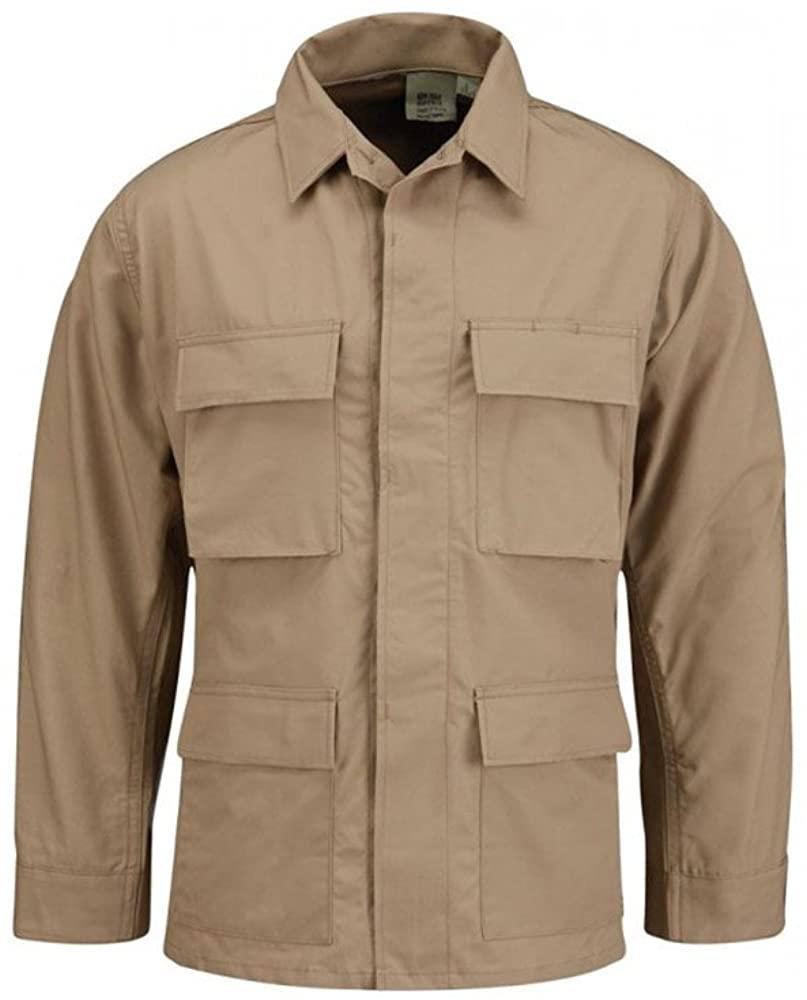 Propper Men's Bdu Coat - 65/35 Ripstop, Khaki, 4X Large Regular
